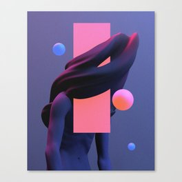 weary I Canvas Print