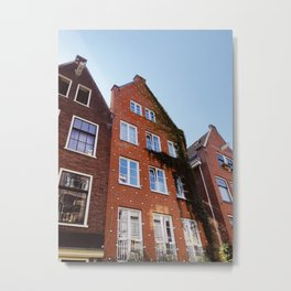Canal Houses, Amsterdam Metal Print