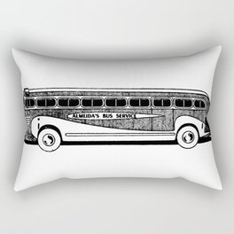 Bus Rectangular Pillow