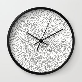 PAGE 2 IN THE FRACTAL UNIVERSE COLORING BOOK! Wall Clock