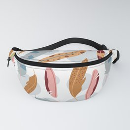 Modern Feathers Fanny Pack