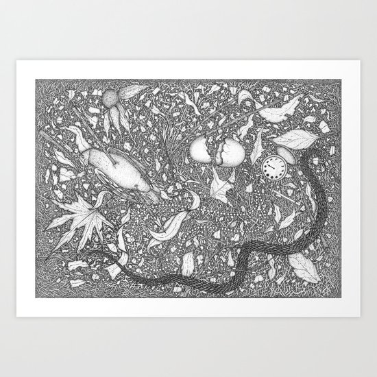 dearth Art Print