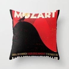 NUR EINE NACHT! Throw Pillow