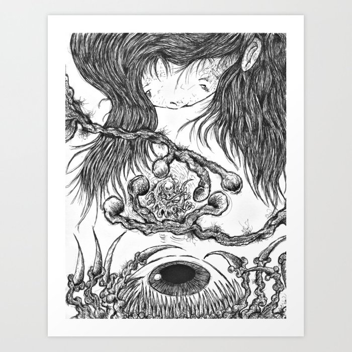 I may have fallen..but you shall be saved ! Art Print