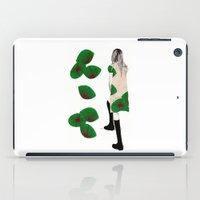 cara iPad Cases featuring Cara by Melania B