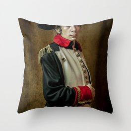 Napoleon B Throw Pillow