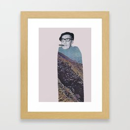 Cigar man  Framed Art Print