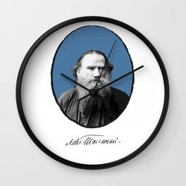 Authors - Lev Tolstoj Wall Clock