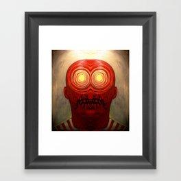 Sun Worshiper Framed Art Print