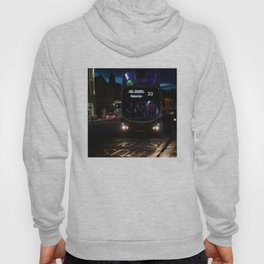 Bus along Princes Street Edinburgh Hoody