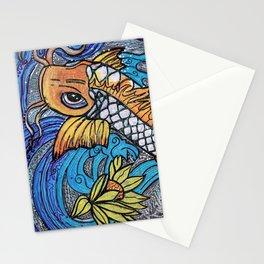 Glitter Fish Stationery Cards
