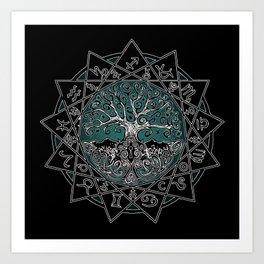 Gate & Key: Sidereal 13 Sign Astrology Art Print
