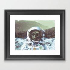 Dead Astronaut Space Framed Art Print
