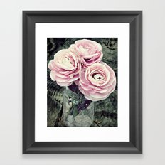 Pretty Ranunculus Framed Art Print