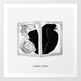 Living Costs Art Print