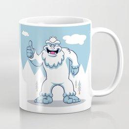 Blue yeti. Coffee Mug