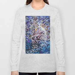 Electric Skull Long Sleeve T-shirt