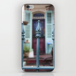 French Quarter Gate iPhone Skin