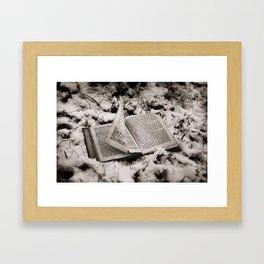 Read To Me Framed Art Print