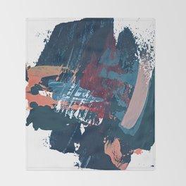 Pacific Northwest: a pretty minimal abstract piece by Alyssa Hamilton Art Throw Blanket