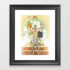 The Mermaid Club Framed Art Print