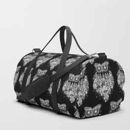 Dream Catcher on Black Duffle Bag