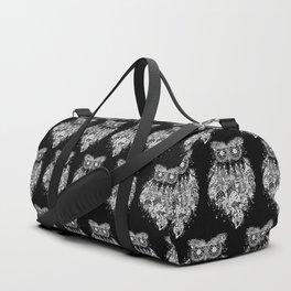 Dream Catcher on Black Duffle Bag