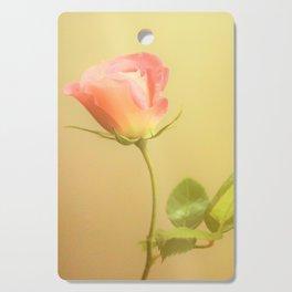 Single Rose Cutting Board