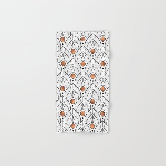 Art Deco Leaves / Version 2 Hand & Bath Towel