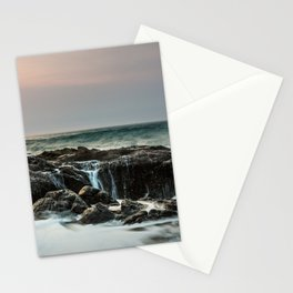 Thor's Well Sunset Stationery Cards