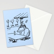 The Absinthe Drinker Ape Stationery Cards