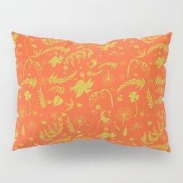Yellow/green + Orange Spring Folliage SS18 Pillow Sham