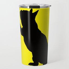 French Bulldog Ferrari  Travel Mug