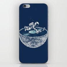 Space Tune iPhone Skin