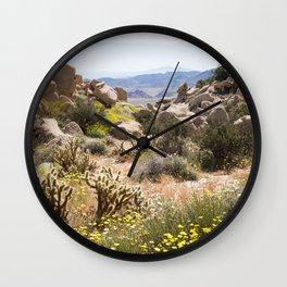 Desert Canyon Wall Clock