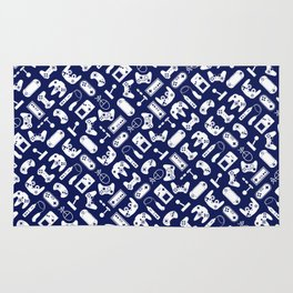 Control Your Game - Sodalite Rug
