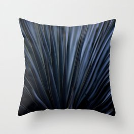 Blue Straws 2 Throw Pillow