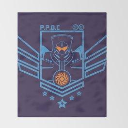 P.P.D.C. Throw Blanket