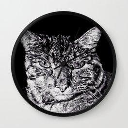 Chairman Meow Wall Clock