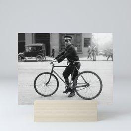 Vintage Bike Messenger - Alabama - 1914 Mini Art Print