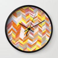 blanket Wall Clocks featuring Blanket by Tonya Doughty