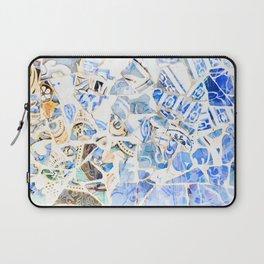 Mosaic of Barcelona XII Laptop Sleeve