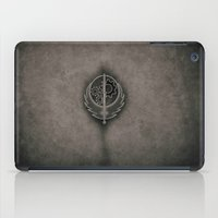 fallout iPad Cases featuring Fallout Brotherhood Of Steel by Anthony.Ch
