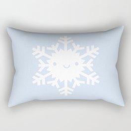 Kawaii Snowflake Rectangular Pillow
