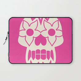 FEEDING GROUND Sugar Skull Laptop Sleeve