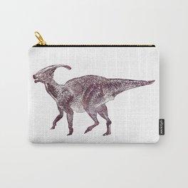 Parasaurolophus dinosaur Carry-All Pouch