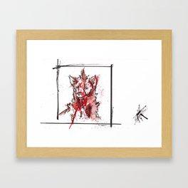 Nature is F*cking Metal 10 Framed Art Print