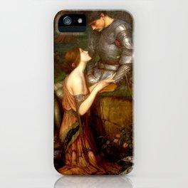 John William Waterhouse Lamia iPhone Case