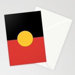 Australian Aboriginal Flag Stationery Cards