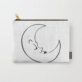 Sleepy Moon Carry-All Pouch